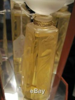 1994 Lalique Ltd Ed Les Muses (mib) 1ère Année Bouteille De Parfum Flacon Avec 2 Fl Oz