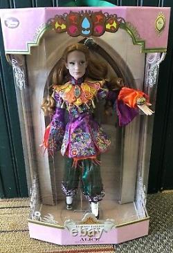 Alice In Wonderland Edition Limitée Poupée Alice À Travers Le Verre À L'air 17'