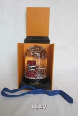 Authentic Louis Vuitton Glass Snow Globe Stokowski Trunk Vip Edition Limitée