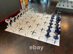 Baccarat 250th Anniversary Ltd Édition Harcourt Chess Set Conçu Par Nendo