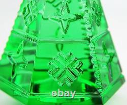 Baccarat Courchevel Vert Sapin De Noël Fabriqué En France 2804655 Nouveau Pas De Boîte