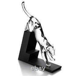 Baccarat Crystal Leaping Panther, Premier De La Série #2601880 Français B Nib F/sh