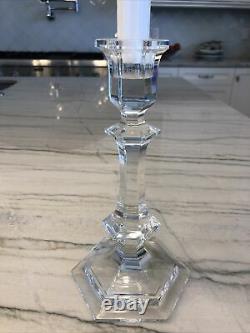 Baccarat Harcourt 9 Plus Grand Chandelier En Cristal Signé Porte-bougies Authentiques