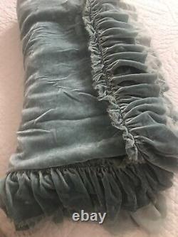 Bella Notte Limited Edition Queen Silk Velvet Coverlet En Verre De Mer! Loulah ( Loulah )