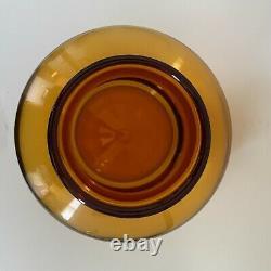 Blenko 7328 Grande Carafe En Verre D'art Du Blé Par John Nickerson, Produit De 1973 À 1974