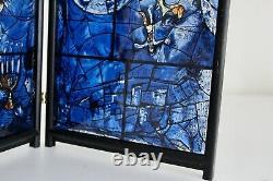 Chagall Vtg MID Century Modern Vitrail Panel Art Institute Chicago