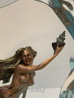 Christopher Pardell Limited Edition 377/500 Keep-a-way, 12 Sirène Sculpture
