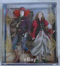 Disney Alice Et Mad Hatter Limited Edition Doll Set Alice Par Looking Glass