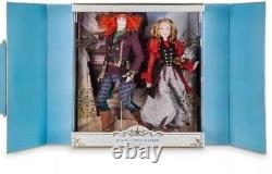 Disney Store Limited Edition Platinum Alice In Wonderland Looking Glass 17 Poupée