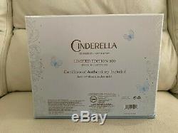 Disney Store Swarovski Pantoufle De Cendrillon Limited Edition