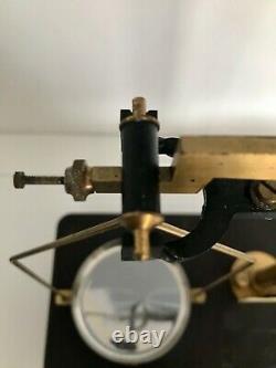 Écailles Antiques En Verre Cased (tatlock Ltd)pesage De L'apothicaire