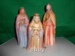 Fenton Art Glass 1ère Édition 2007 Nativité 12 Piece Set 1ère Édition # 2 / 1000