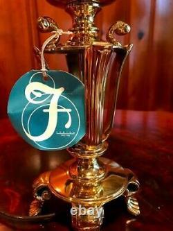 Fenton Art Glass Special Collection Lamphand Peint Sur Verre Opalescent