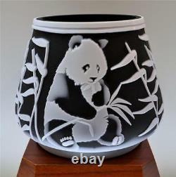 Fenton Kelsey Murphy Ours De Panda Sculpté De Sable 34142z Le #d 123/350 Liberté