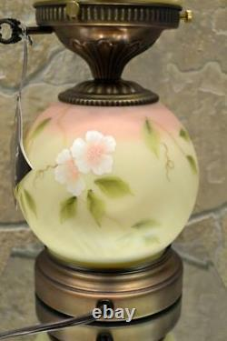 Fenton Lamp Yellow Burma Satin Bluebird 8908a6 #d 136/1250 18 Free48stship