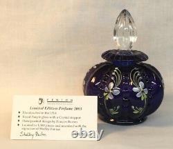 Fenton Peint À La Main Royal Purple 3 Pièces Vanity Set Nancy & Shelly Limited
