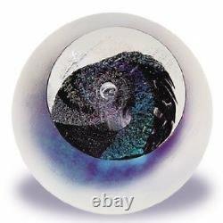 Glass Eye Studio Celestial Black Hole Art Glass Avec Boîte- Made In USA