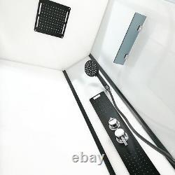 Insignia Cabine Cabine De Douche Sans Steam 900mm Monochrome Designer Ltd Edition