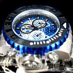 Invicta Jt Sea Hunter Gen II Steel Blue Glass Fiber Swiss Mvt 58mm Regarder Nouveau