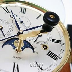 Kieninger Horloge Murale Limited Edition Moonphase Design Calendrier Westminster Chime