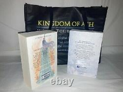 Kingdom Of Ash Pack + Trone Libre De Verre Sarah J. Maas Preuve Non Corrigée Arc
