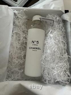 L'usine Chanel No. Bouteille D'eau En Verre De 5 Édition Limitée