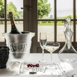 Lalique Aphrodite Vintage Clear Crystal Decanter #10548200 Brand Nib Save$$ F/sh