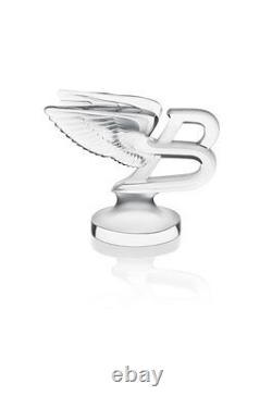 Lalique Crystal Limited Edition Flying B Mascotte #10335600 Marque Nib Bentley F/sh