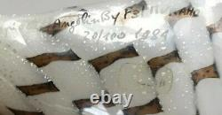 Lino Tagliapietra / Marina Angelin F31 Murano Signé 1984 Glass Shell 20/100 9