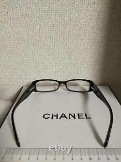 Lunettes De Vue Chanel 3096-b Edition Limitée Swarovski Crystal Black Frames Rare