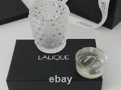 Mossi Candle Vase Lalique Limited Edition Ensemble De Deux