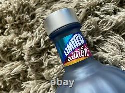 Mouvement Absolut Vodka 2020 Empty Bouteille Edition Limitée Verre Bleu