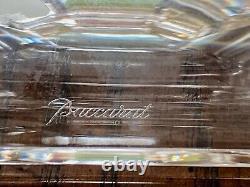 Nib Baccarat Versailles 9 Chandelier En Cristal Signé Authentique Porte-bougie