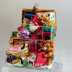 No De Don De L'oak 1 Radko Jumbo Le 1/75 Xmas Ornement Marshall Zones 2002 Toy Chest