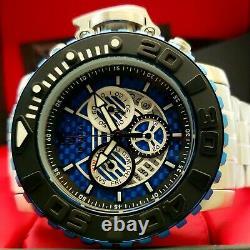Nouvelle Invicta Jt 58mm Hommes Sea Hunter Gen II Steel Blue Glass Fiber Swiss Mvt Watch
