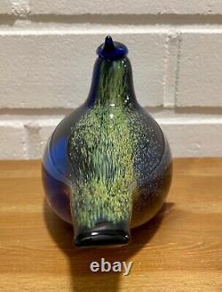 Oiva Toikka Sininärhi (blue Jay) Oiseau Annuel Limité 1999