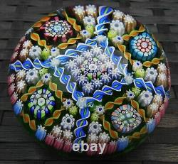 Perthshire Paperweights Complexe Millefiori Edition Limitée Large Paperweight