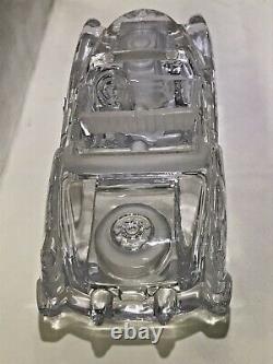 Rare Daum France Crystal 1953 Cadillac Convertible Limited Edition 173/2500