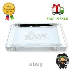 Raw Limited Edition Cristal De Verre Mega Grand 6lb Plateau Roulant