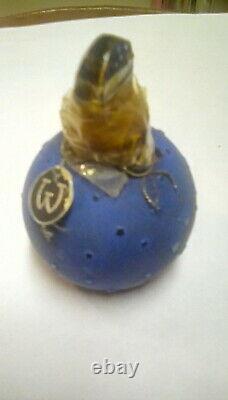 Rene Lalique Dans La Nuit Antique Worth Perfume Bottle Complete Sealed 20% 1932