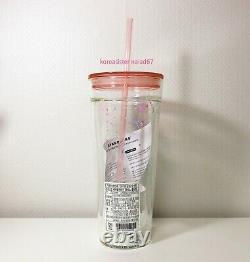 Starbucks Corée 2020 Happy Valentine Glass Tasse Froide 591ml Édition Limitée