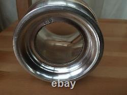 Sterling Silver Tankard Pinte Tasse Par G & Sco Ltd London 925 Verre Qui 458.5g