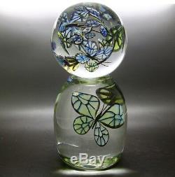 Steven Lundberg Bleu De Monarque Ltd Vase Paperweight, Avr 8.5hx3.5w