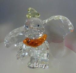 Swarovski Crystal Silver Dumbo 2011 Limited Edition Mint 1.052.873 Réduit