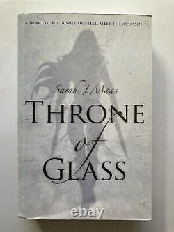 Throne Of Glass Sarah J. Maas Preuve Non Corrigée Arc