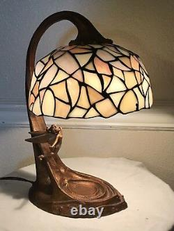Tiffany Style Tinkerbell 50e Anniversaire Stained Glass Lamp Limited Edition