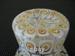 Un Vase En Verre Top Hat Rare, Par Fratelli Toso, De Murano Italie, Vers Les Années 1950-60