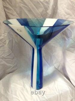 Un Vase Venini Rare, Commisioned Par La Société Tupperware Japan En 1999