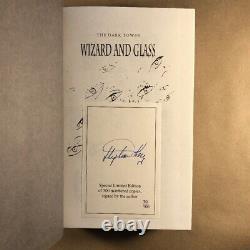 Wizard And Glass De Stephen King (signé En Premier, Édition Limitée Du Royaume-uni, Couverture Rigide)